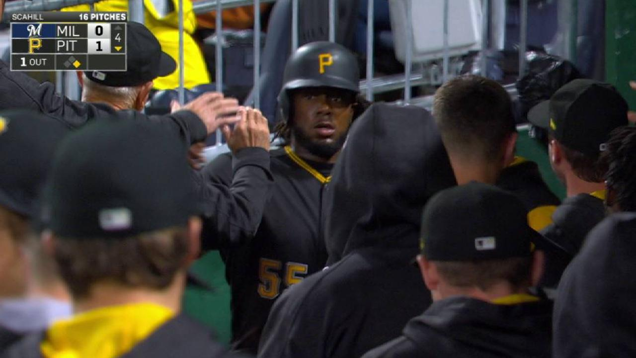 Polanco's RBI single