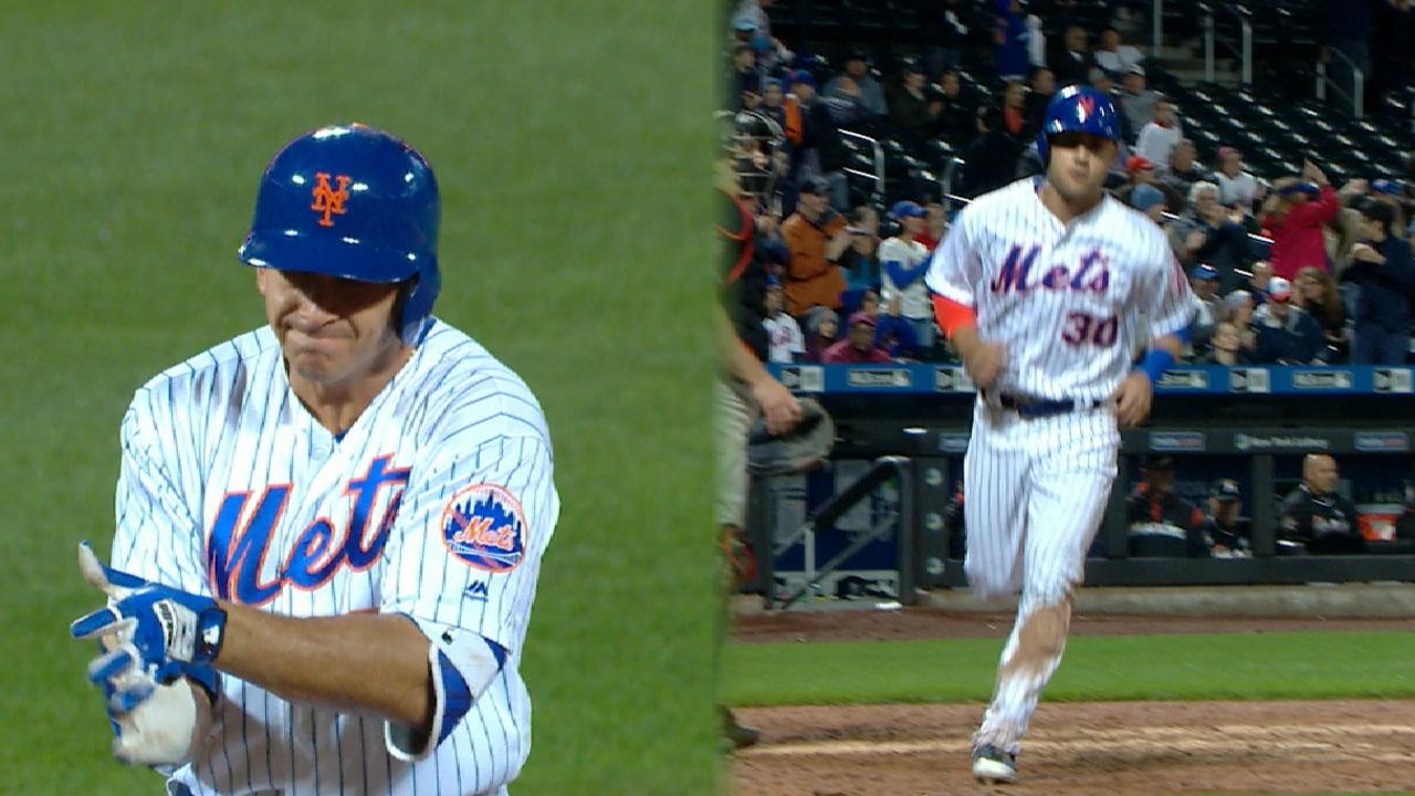 5-run 7th caps rally as Mets down Marlins