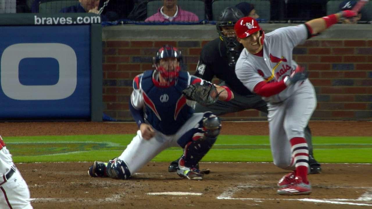 Cardinals back Lynn in big way in ATL shutout