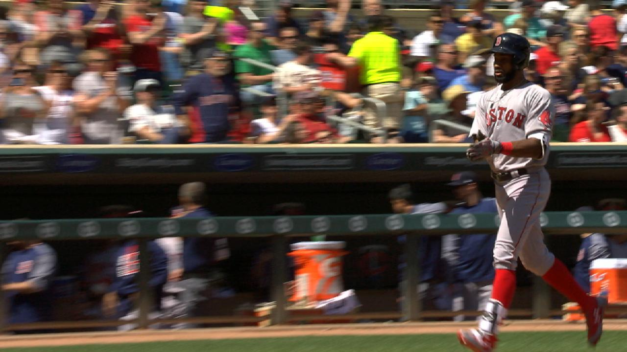 Young's two-homer game