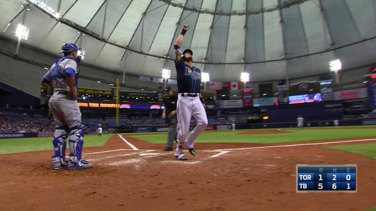 Rasmus' two-run home run