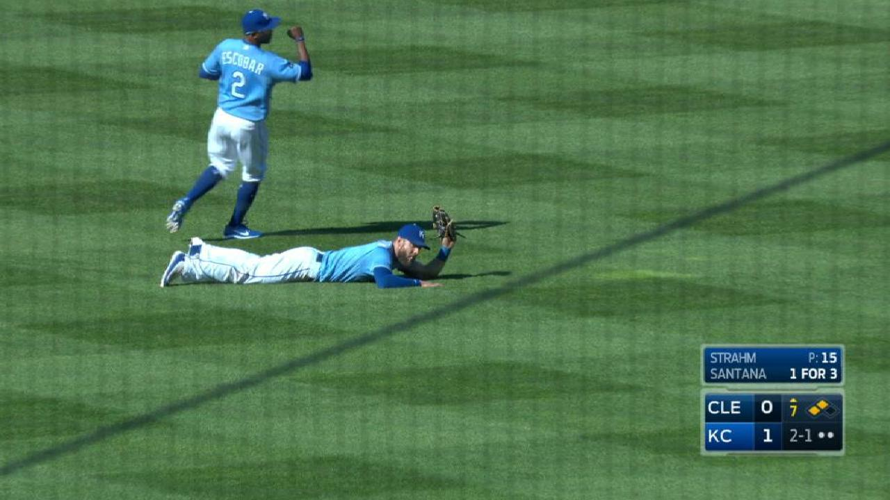 Gordon's clutch diving catch