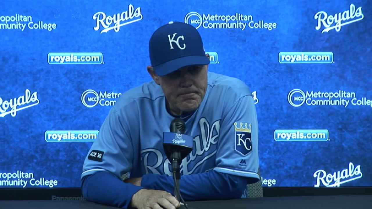 Yost on 3-1 loss to Indians