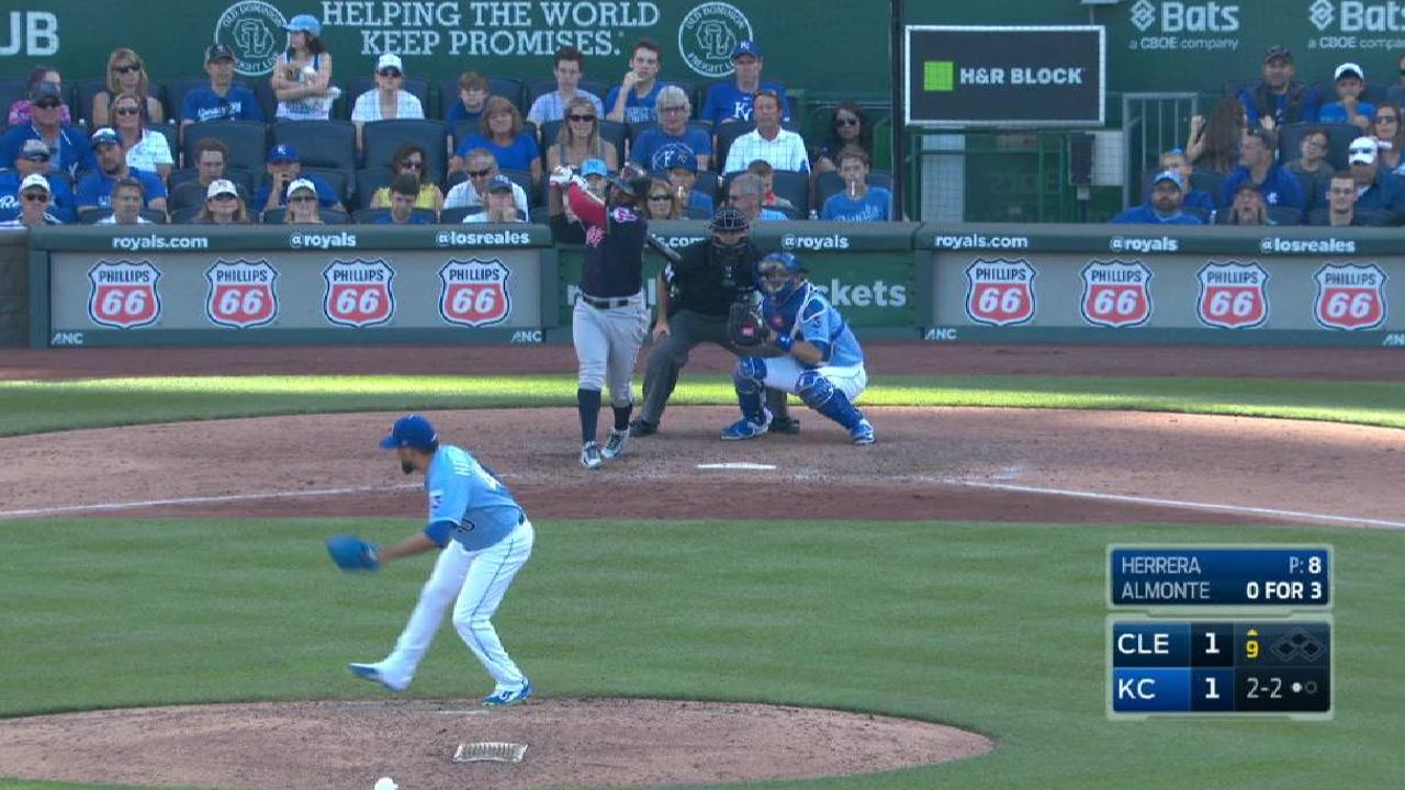 Bullpen can't hold off Tribe in late innings