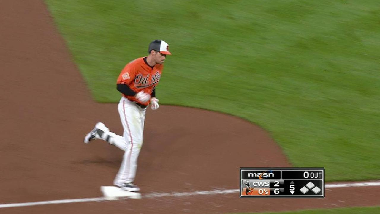 O's ride Mancini, 3-run 1st to win against Sox