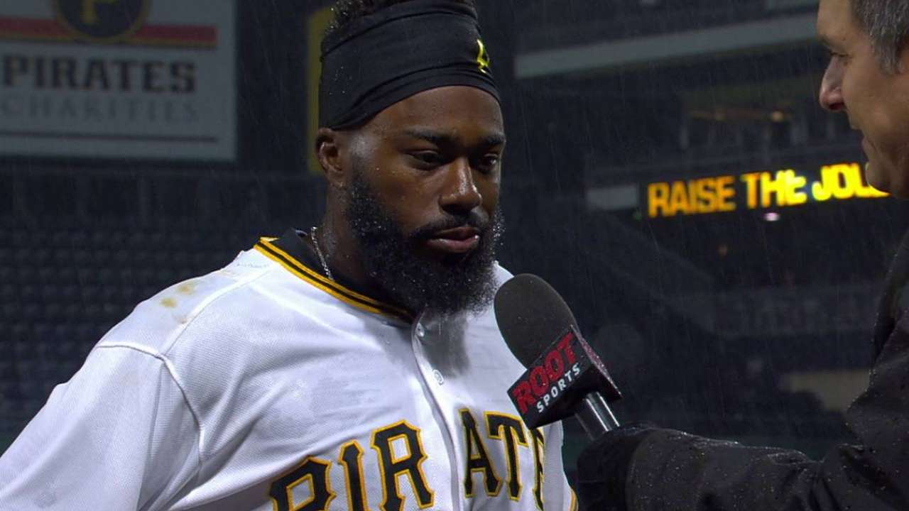 Pirates' mistakes covered by Harrison's hit