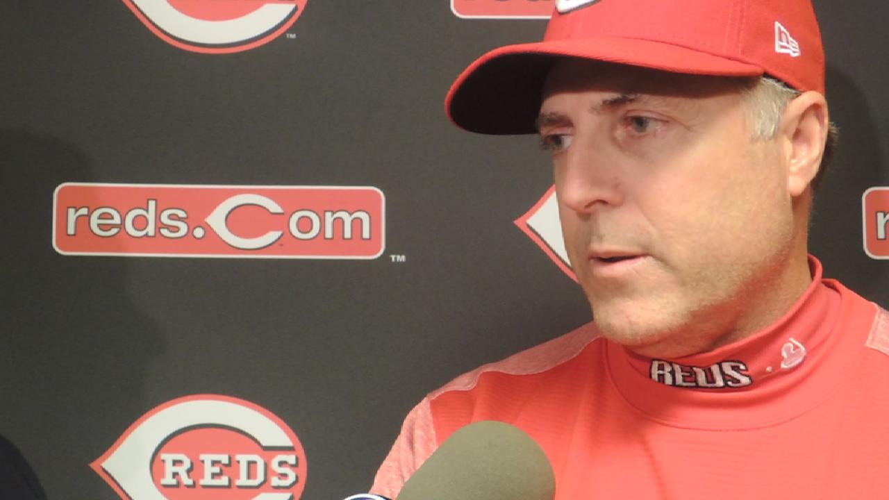 Price on the Reds offense in win