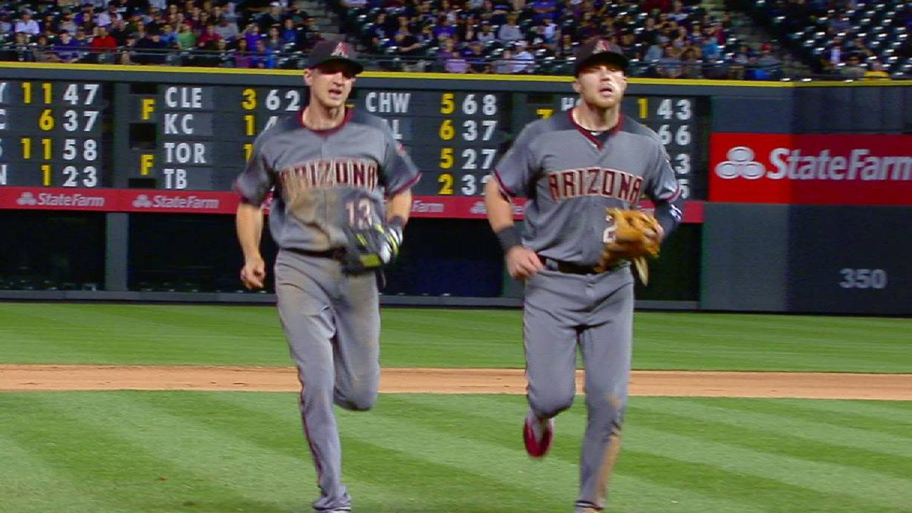McFarland induces double play