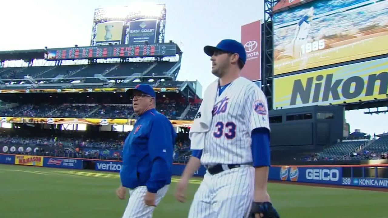 Mets on Harvey's suspension