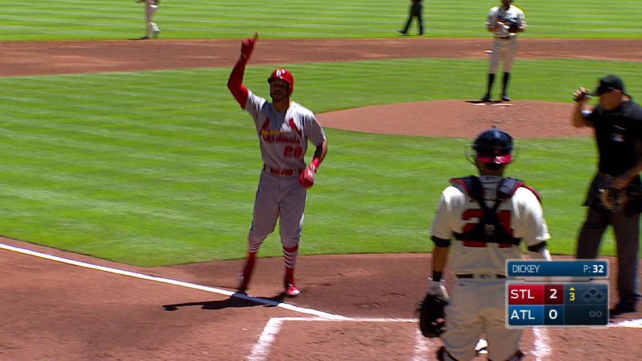 Pham's solo home run