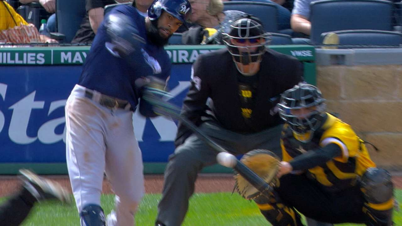 Thames breaks out of slump with 12th homer