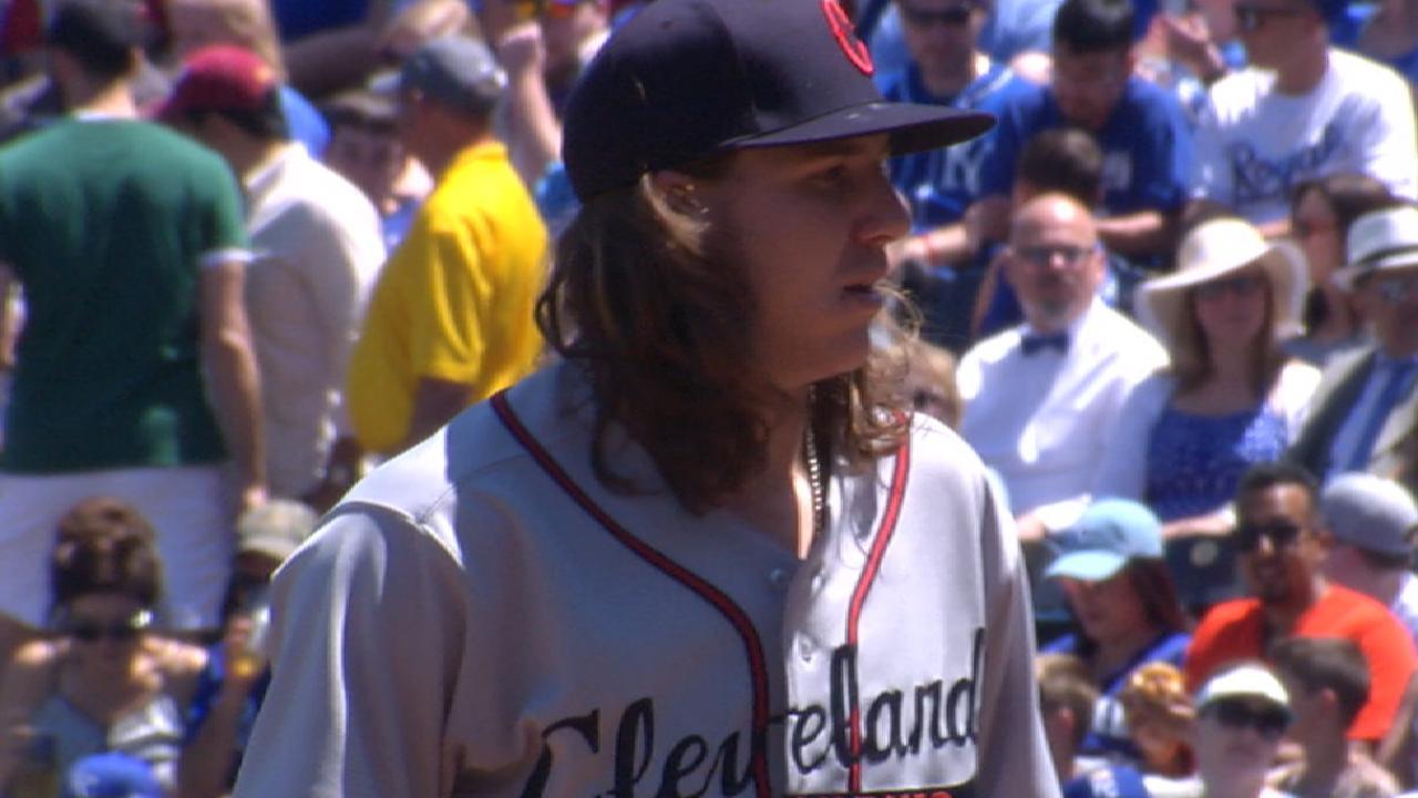 Dandy debut: Clevinger silences Royals' bats
