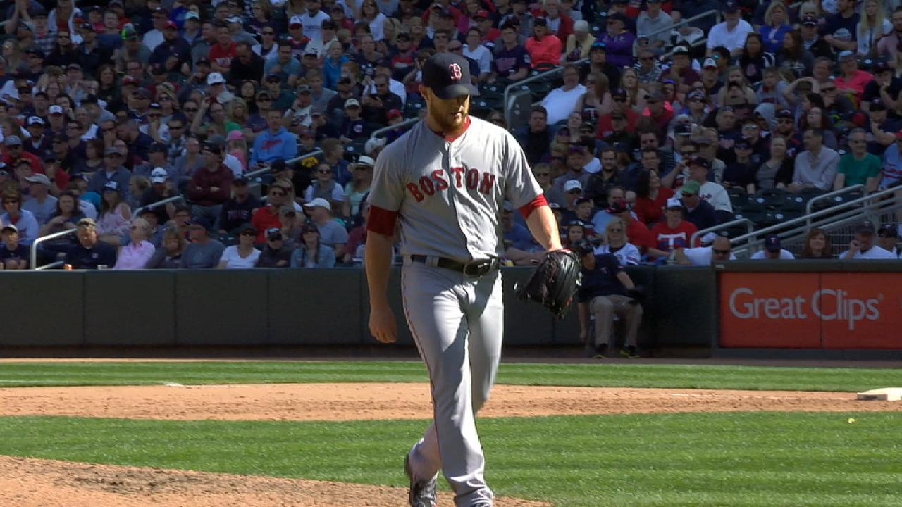 Kimbrel preserves lead with K's