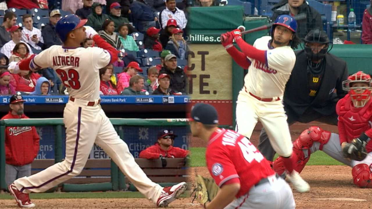 Turning Points: Altherr's HR fuels Philly rally