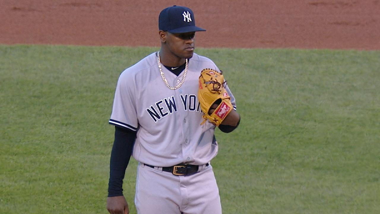 Severino K's nine vs. Cubs