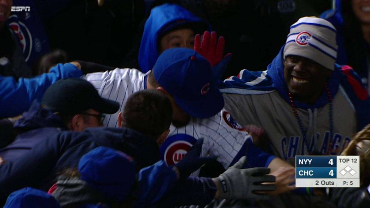 Schwarber's outstanding catch