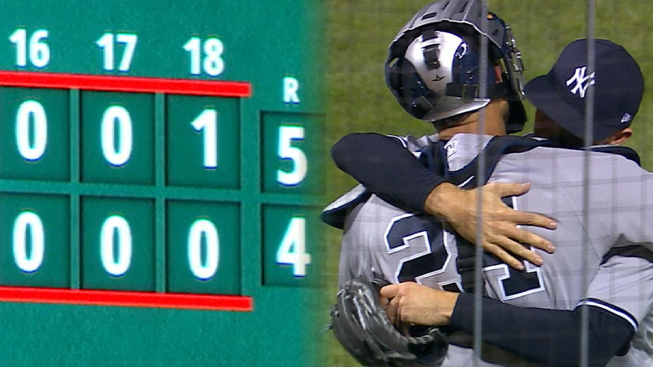 Must C: Yanks outlast Cubs in 18