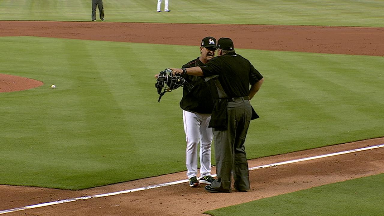 Mattingly gets ejected from game