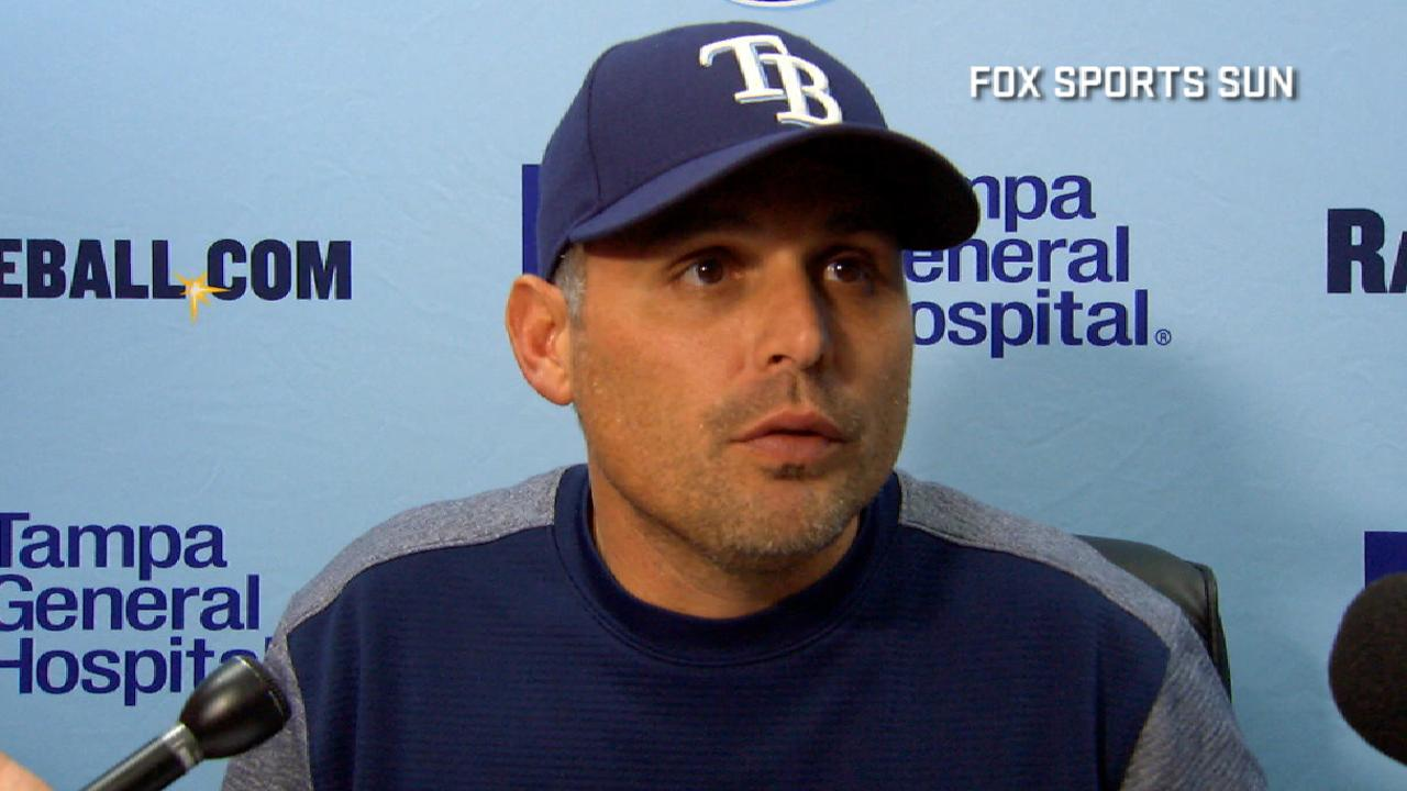 Cash on the 7-3 loss to Royals