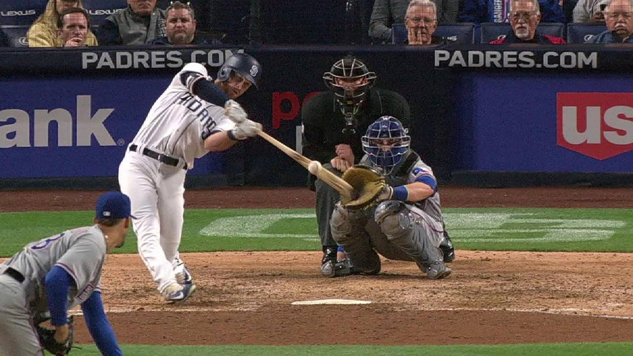 Spangenberg's solo home run
