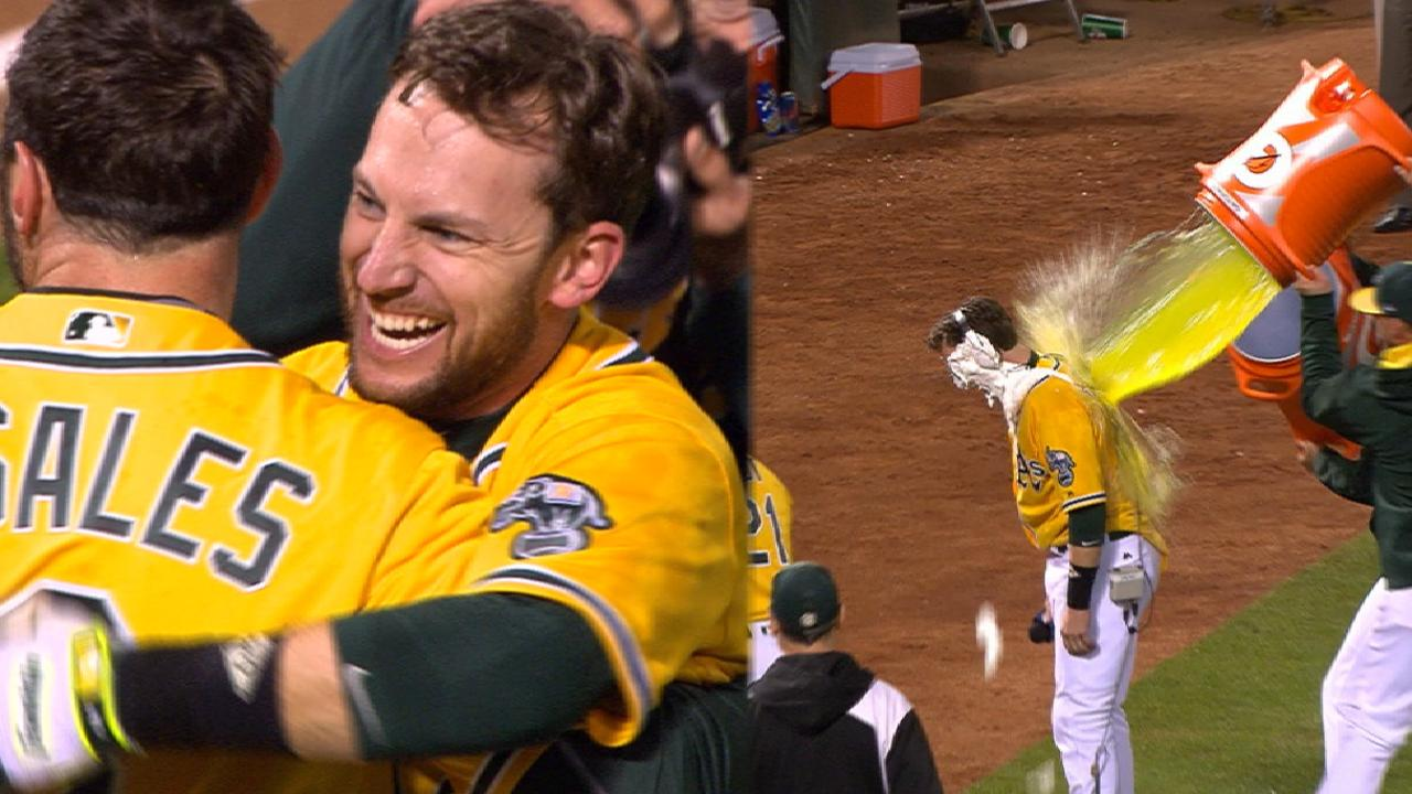 Must C: A's walk off again