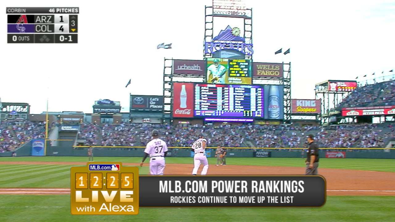 Rockies are on the rise