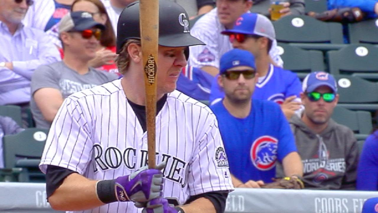 Rox ride 6-run 3rd to breezy G1 win over Cubs