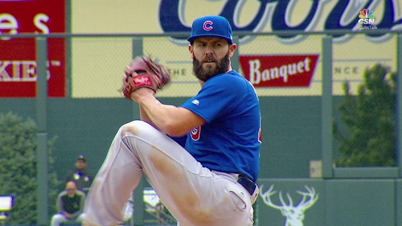 Poor location leads to rough outing for Arrieta