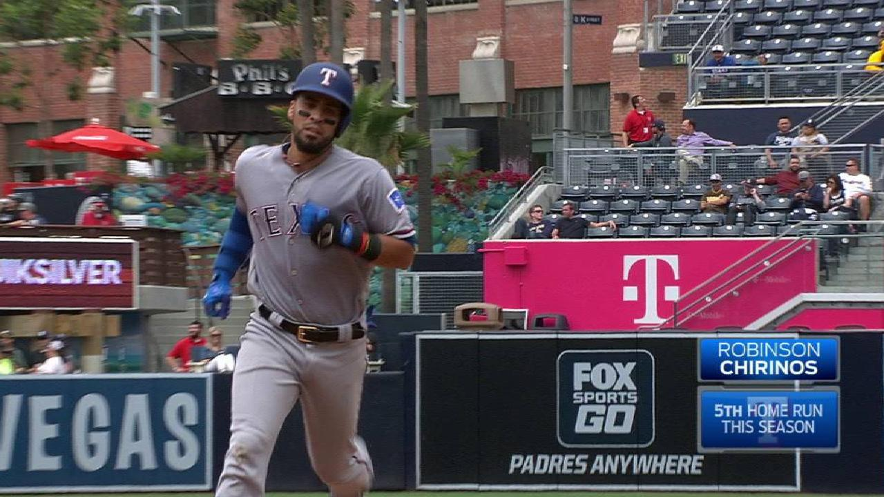 Chirinos shows he's more than a backup