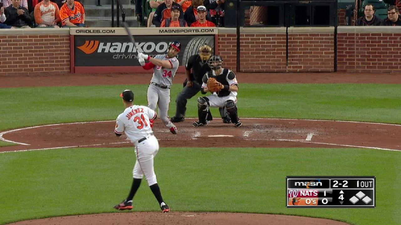 Ubaldo commands fastball, looks to get on roll