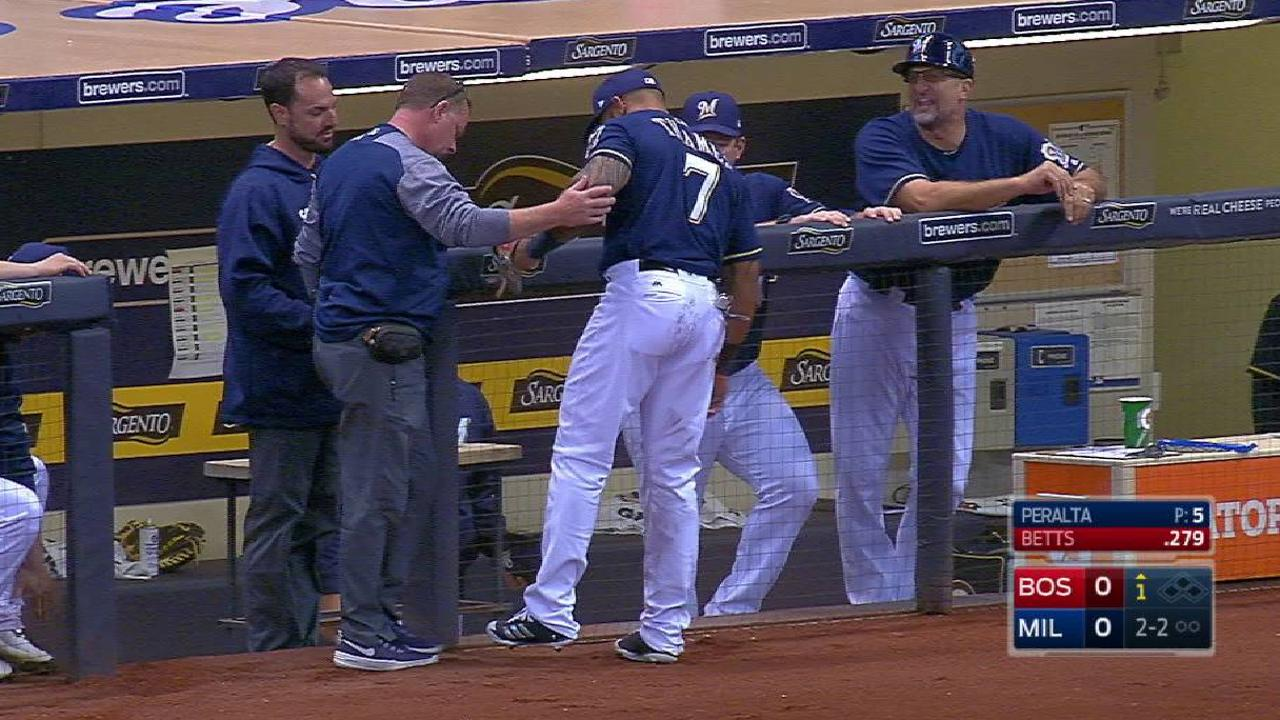 Thames slides into the dugout