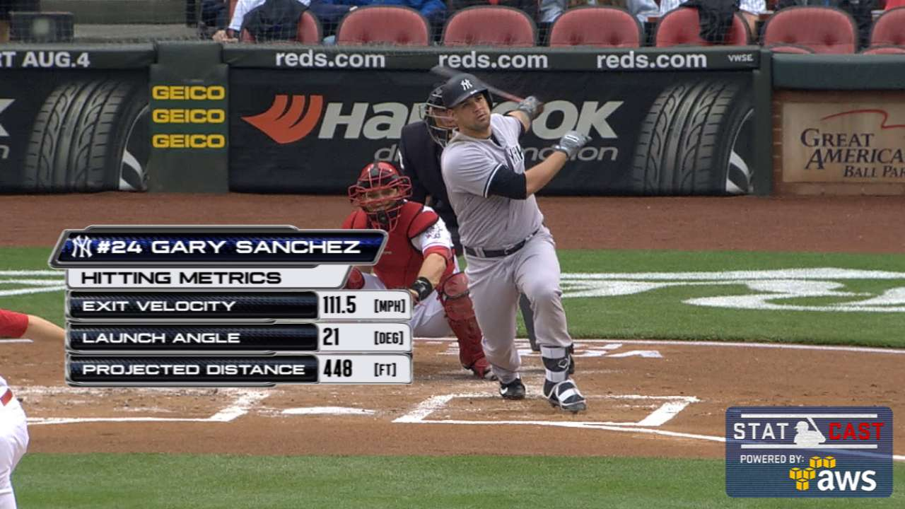 Crush, then crushed: Sanchez hits lasers