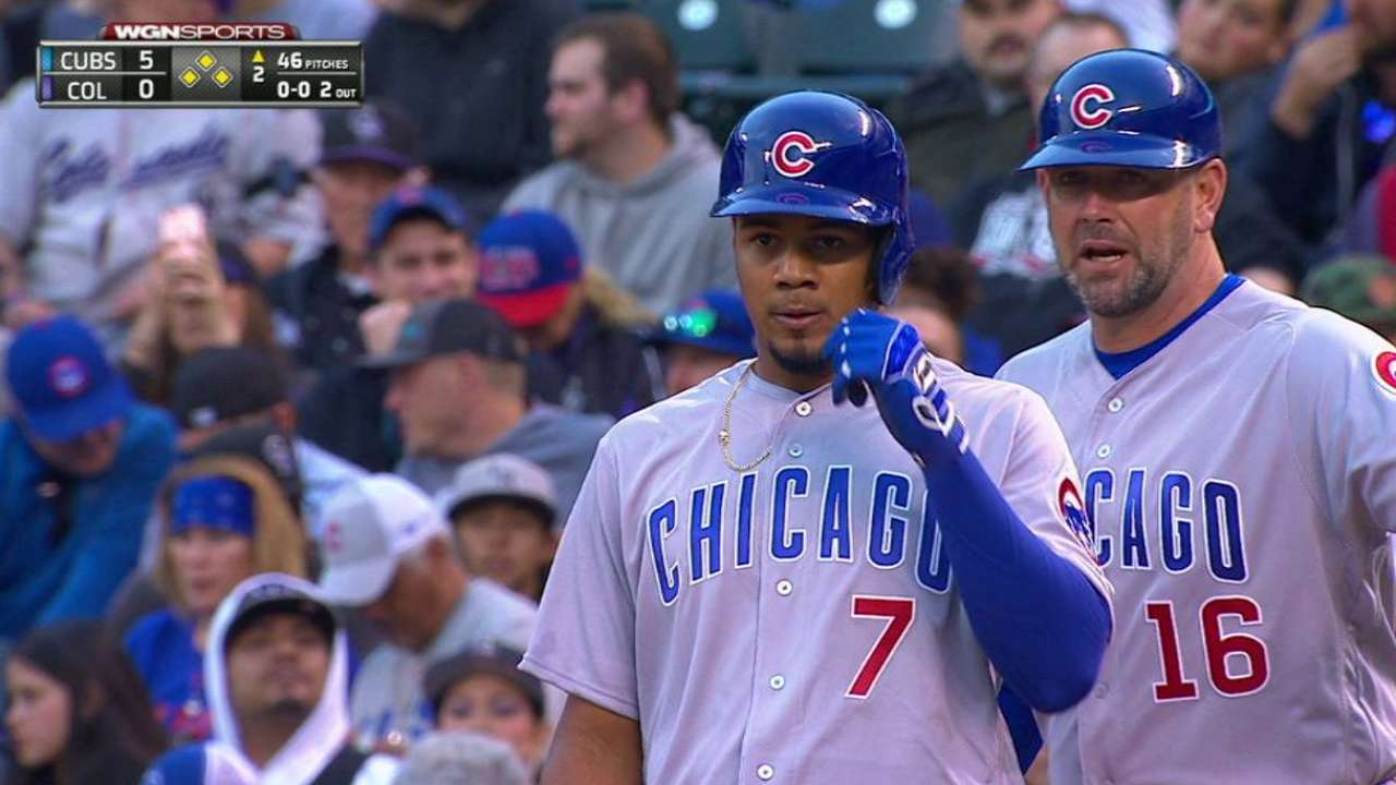 Cubs comfortable with Candelario at cleanup