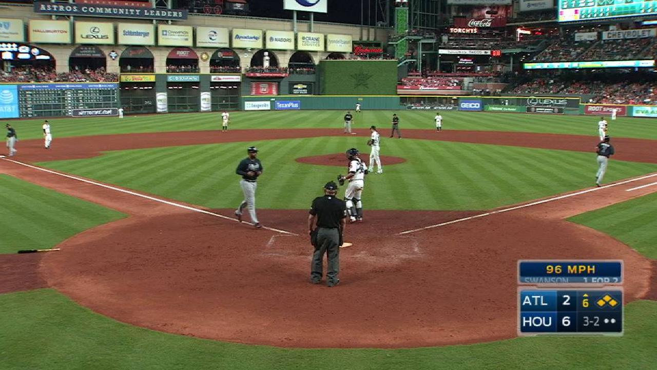 Swanson's bases-loaded walk