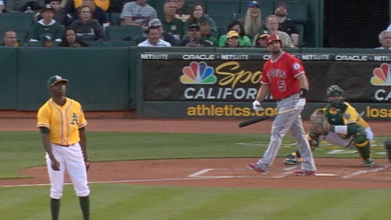 Pujols continues climb to 600, hits 596th HR
