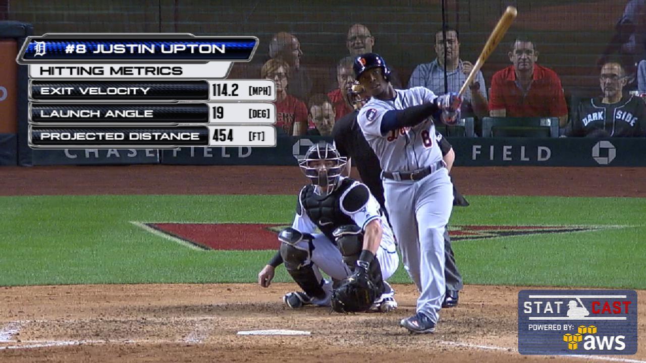 Statcast: Upton's 454-ft. homer