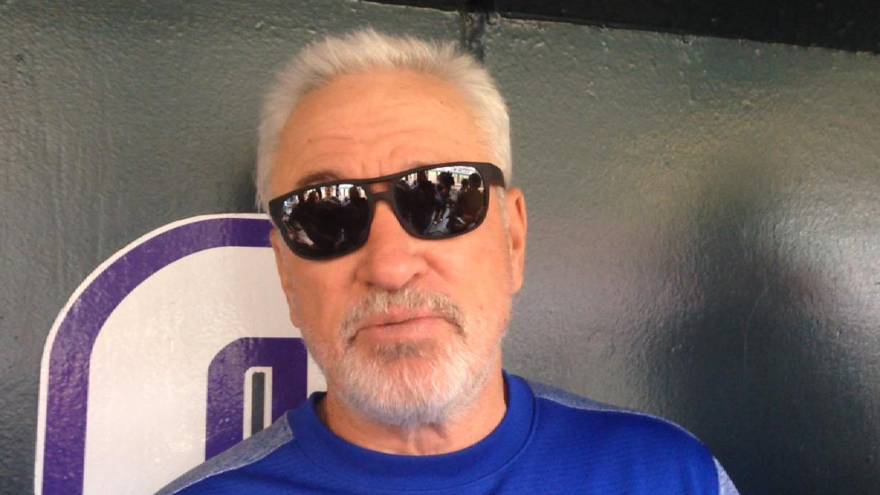 Maddon on Candelario's potential