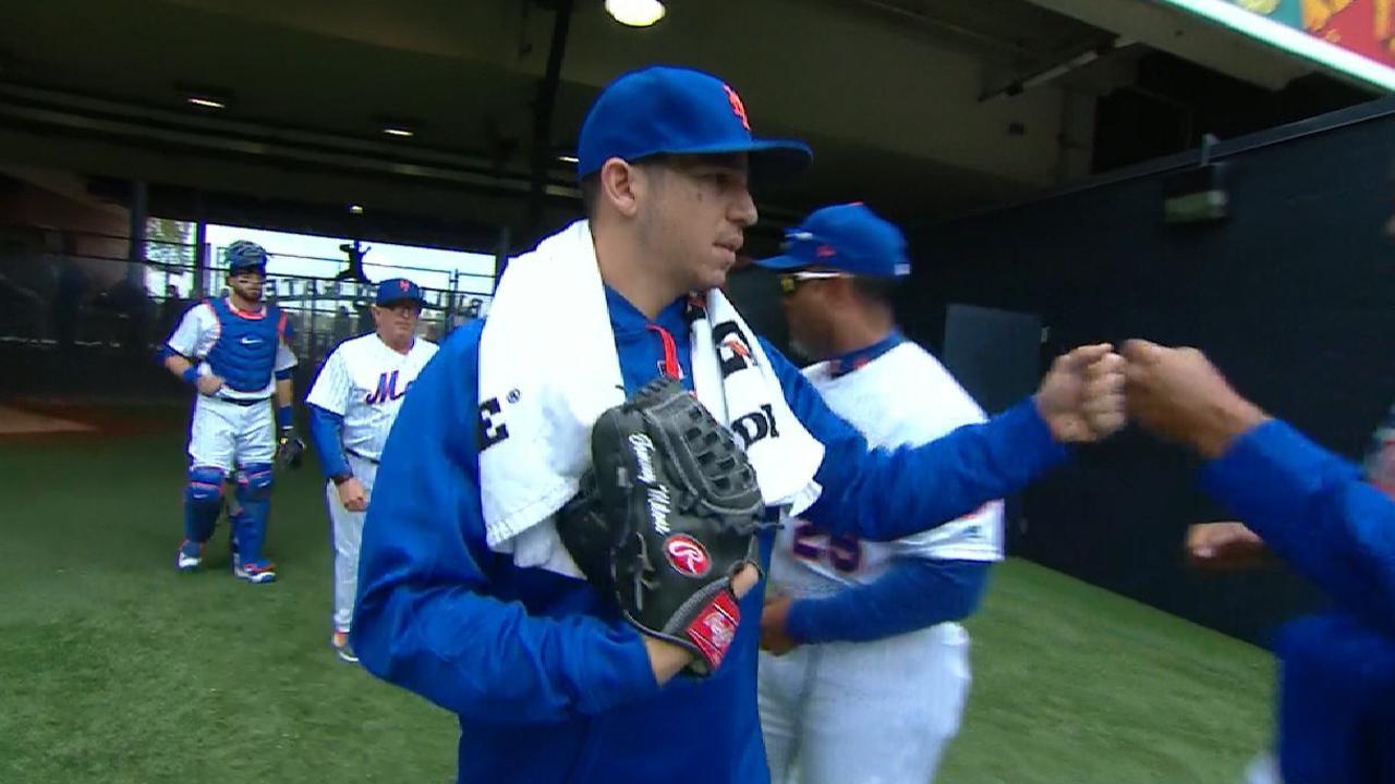 Milone makes impressive debut, but Mets fall