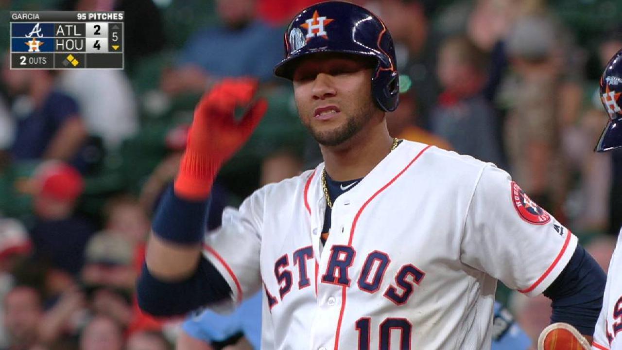 Astros' knack for timely knocks stays evident