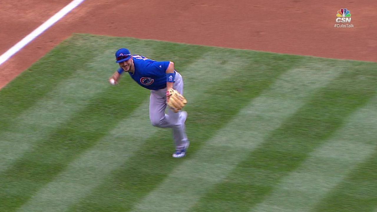 Bryant back as injured Cubs make strides
