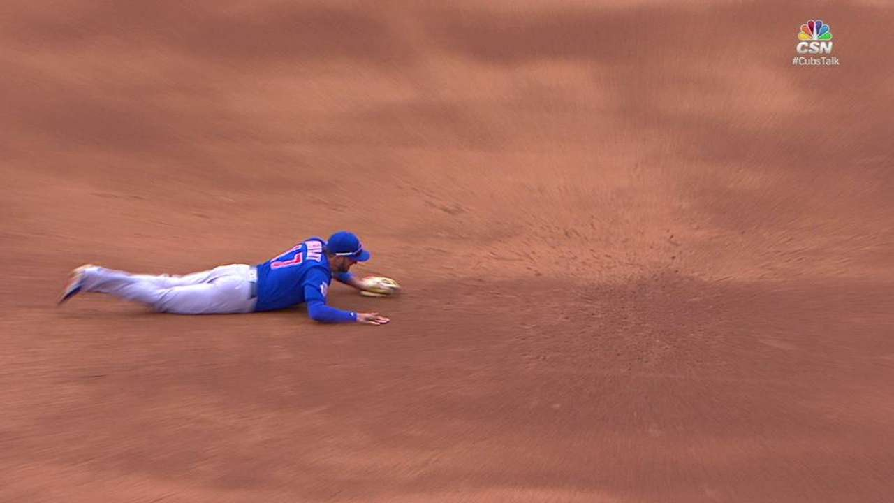 Bryant remains out for dinged-up Cubs