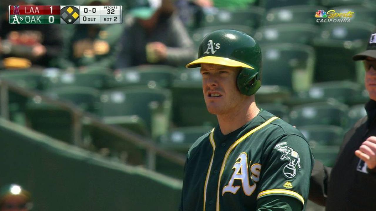 Canha more comfortable after Minors stint