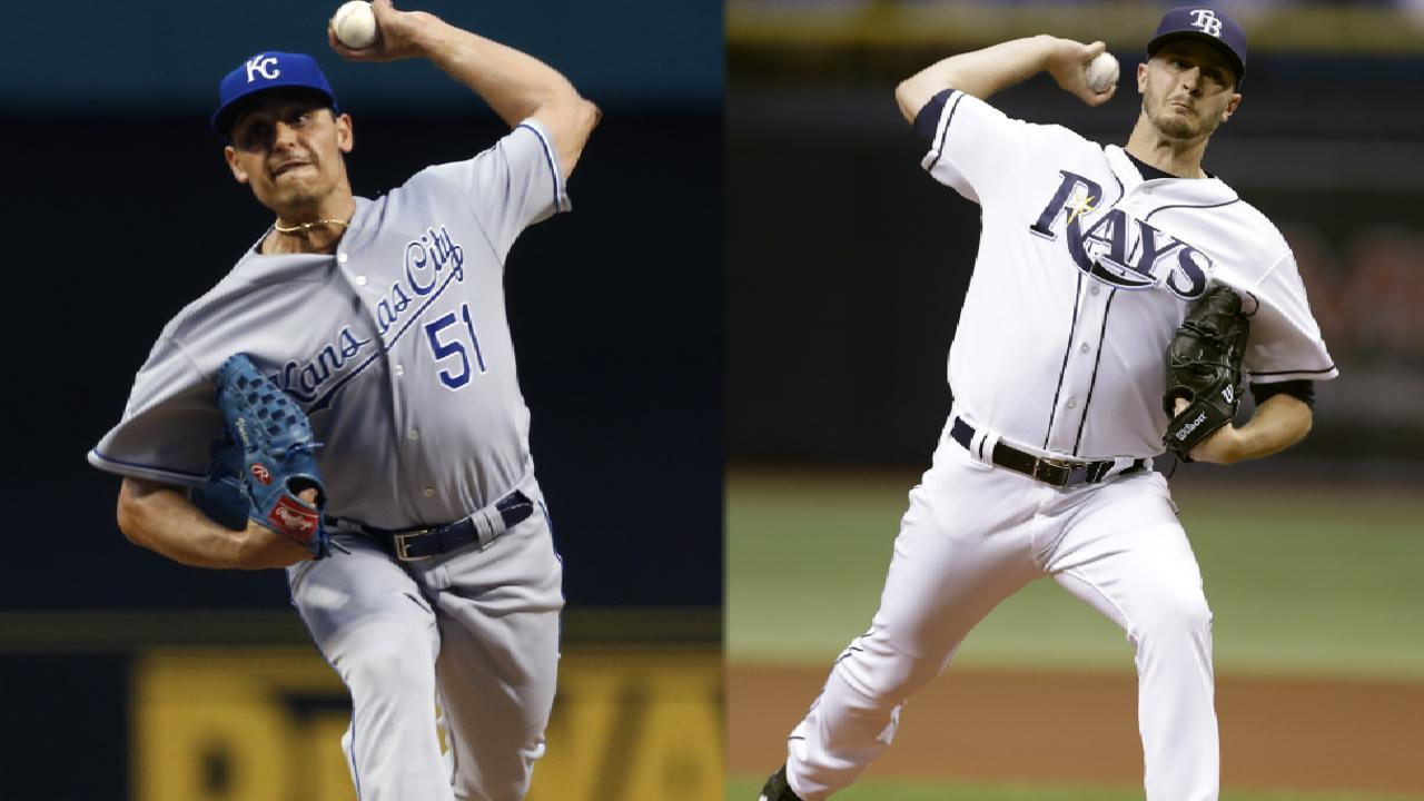 Sizzling pitchers duel all day on MLB.TV