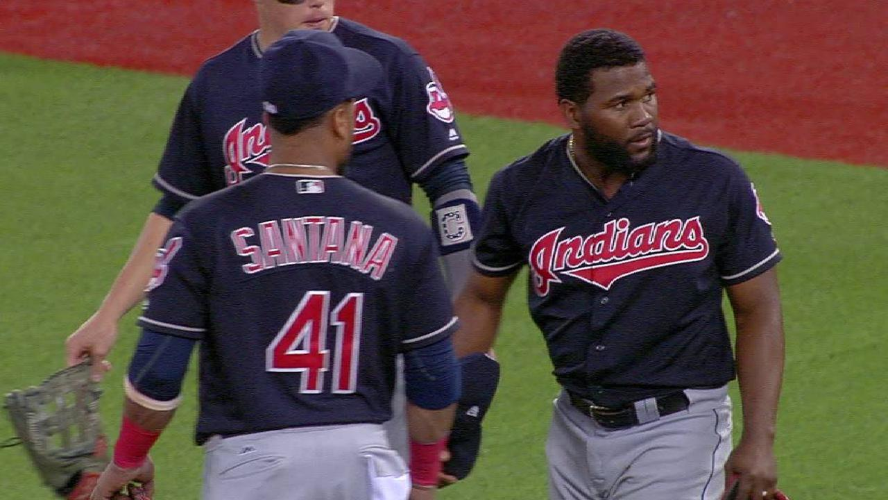 Almonte, Gomes exit game early