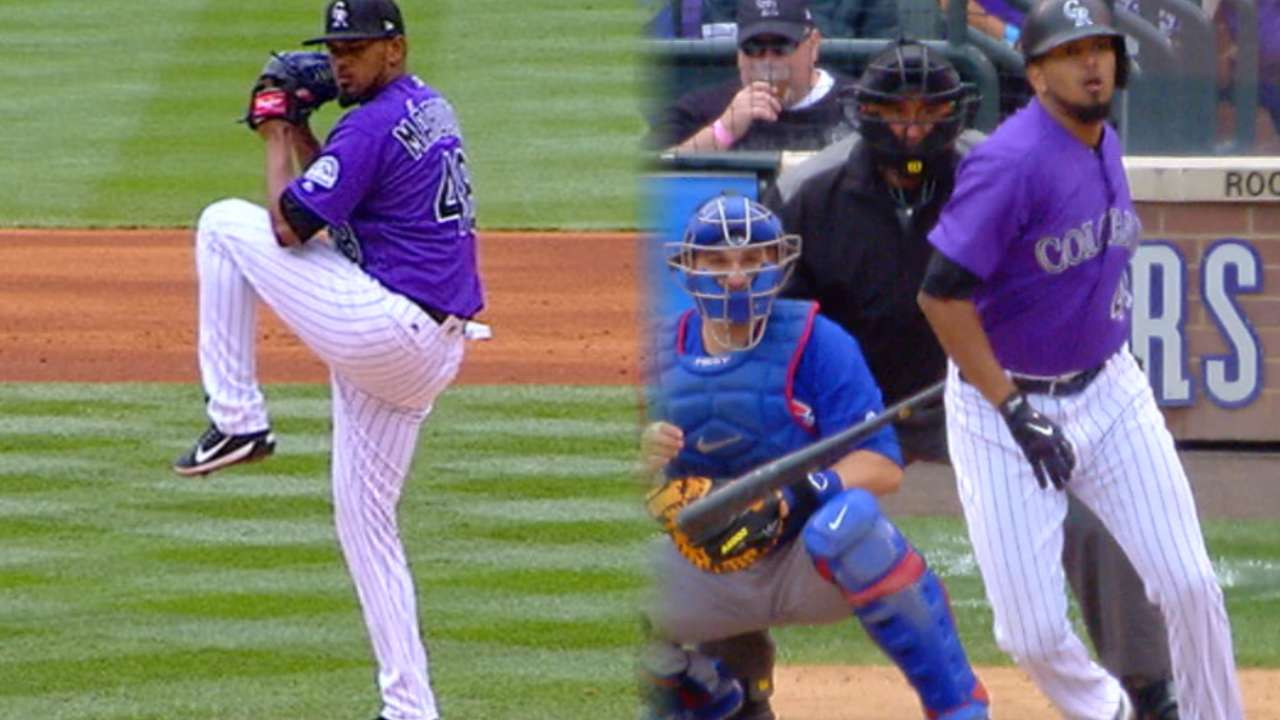 Rockies' rotation unchanged after rainout