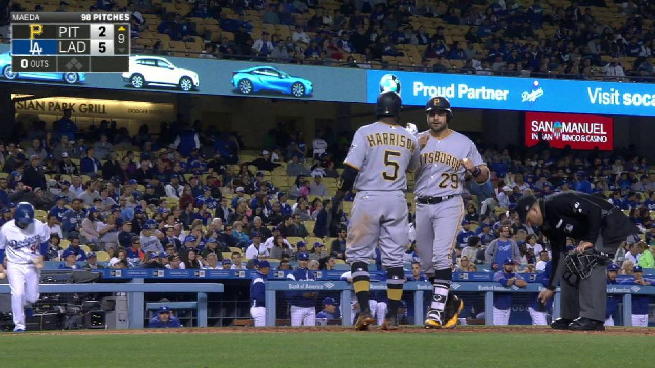 Cervelli's late two-run homer
