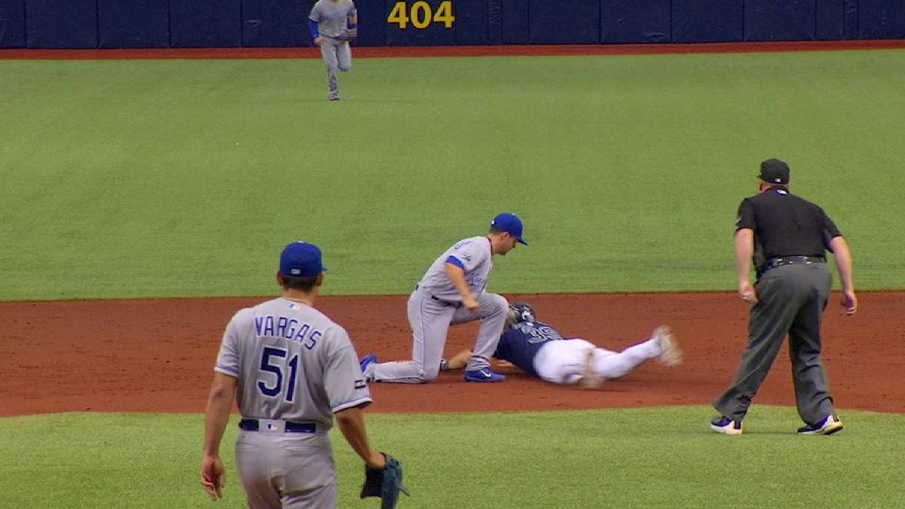 Perez nabs Kiermaier at second