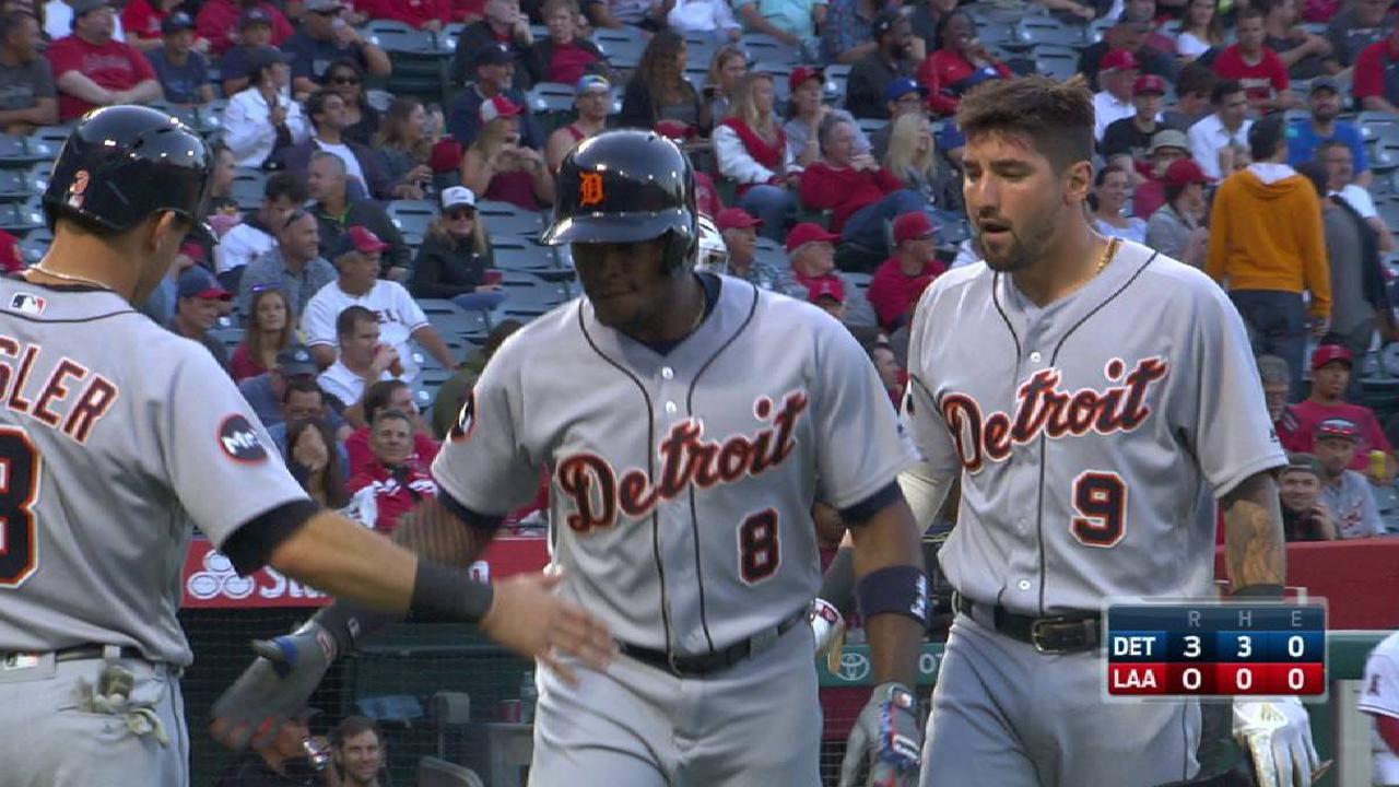 Upton's three-run home run