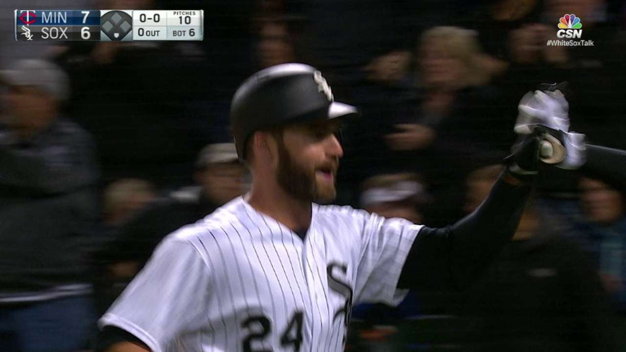 Davidson's solo home run