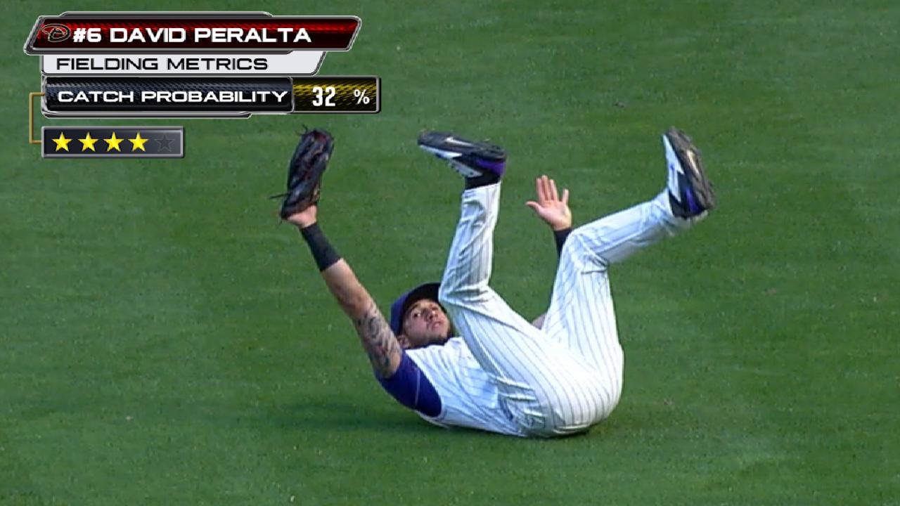 Statcast: Peralta's diving grab
